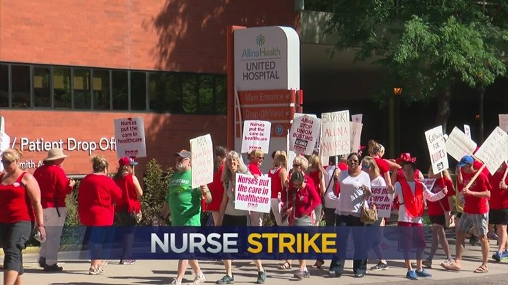 Allina Nurses Strike Could End On Monday After Vote On Proposals