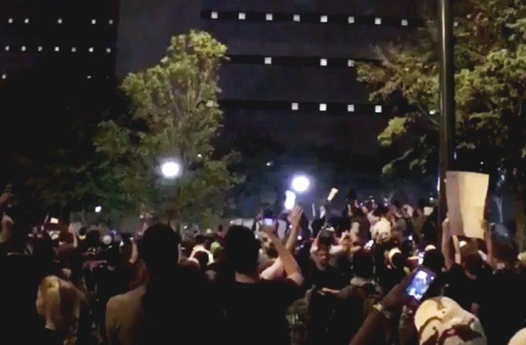 Charlotte Jail Protest Backs Those Who Were Arrested
