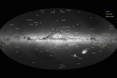 European Space Agency Map Plots 1 Billion Stars In 3D