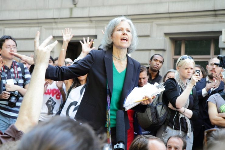 Jill Stein In Wilkes-Barre Calls For Real Change And More Jobs