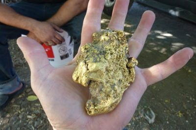 Man Finds Giant Gold Nugget In California Worth $70K