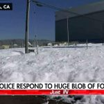 Foam Blob In Santa Clara Stuns Residents And The Web