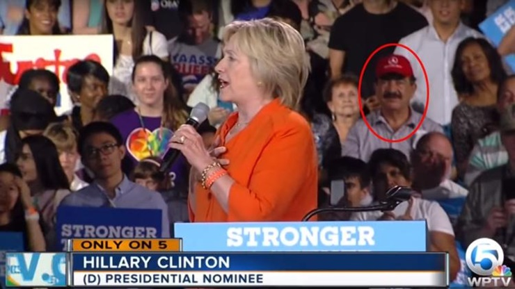 Seddique Mateen Goes To Hillary Clinton Rally And Controversy Ensues