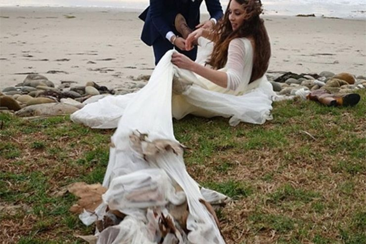 Troian Bellisario And ‪Patrick J. Adams Wedding Pics Surface On Social Media