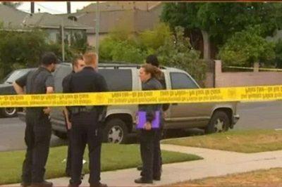 West Adams Bloody Scene: Gunfight In Restaurant Kills 3